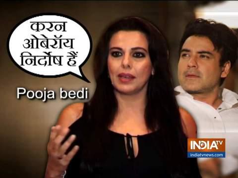 Pooja Bedi defends Karan Oberoi in rape case: It's time to begin a #mentoo movement