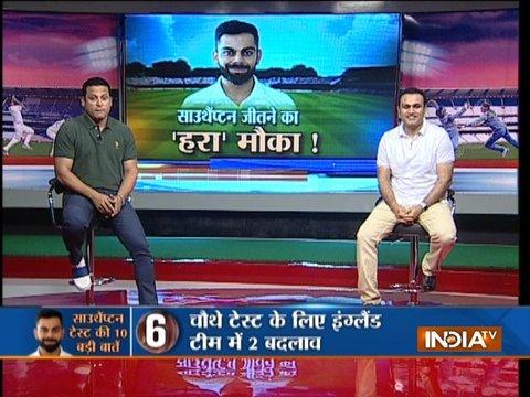 Exclusive   Virender Sehwag suggests Virat Kohli to play Ravindra Jadeja in 4th Test