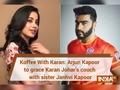 Koffee With Karan: Arjun Kapoor to grace Karan Johar's couch with sister Janhvi Kapoor
