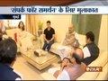 Sampark for Samarthan: BJP chief Amit Shah meets Madhuri Dixit