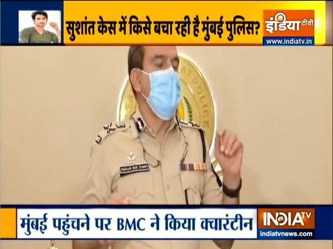 Mumbai Police Commissioner opens up on Bihar police's claim of non-cooperation
