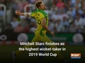 Mitchell Starc remains top wicket-taker at 2019 World Cup
