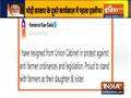 Breaking: Harsimrat Kaur Badal resign as Union Minister from Modi govt