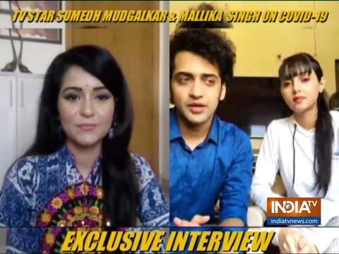 In conversation with RadhaKrishn stars Sumedh and Mallika