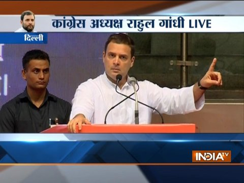 Rahul Gandhi attack BJP over Dalit atrocities in the country