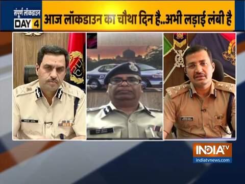 Lockdown को लेकर India TV ने कई शहरों के वरिष्ठ पुलिस अधिकारियों से की बातचीत