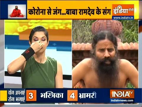 Swami Ramdev shares home remedies for treating sinus