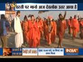 Heavy security deployed at Sangam Ghat on the occasion of first 'Shahi Snan' at Kumbh Mela