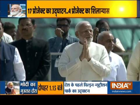 PM Narendra Modi on 2-day Gujarat trip from today, to inaugurate several projects