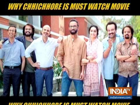 Chhichhore Movie Review: सुशांत सिंह राजपूत और श्रद्धा कपूर की फिल्म