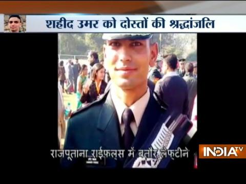 Martyred Indian Army Jawan Umar Fayaz To Be Paid Tribute At India Gate Today