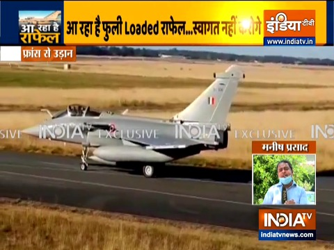 Gamechanger Rafale is fully loaded; will be ready for action in 7 days after touchdown