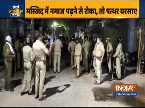 यूपी: अलीगढ़ में पुलिस पर पथराव के लिए तीन गिरफ्तार