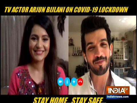 TV actor Arjun Bijlani gets candid about his life during lockdown