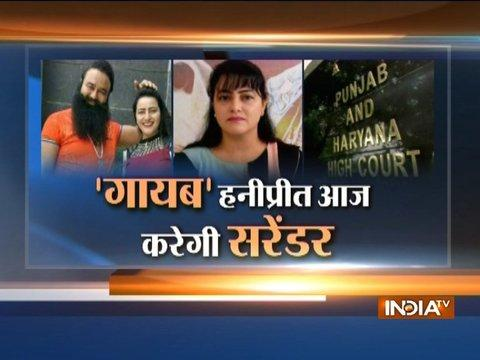 Honeypreet surfaces, says she was depressed after her father Ram Rahim's arrest