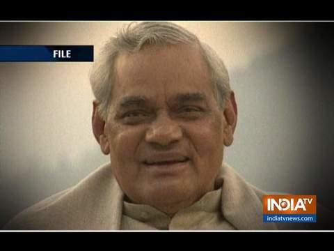 पूर्व प्रधानमंत्री अटल बिहारी वाजपेयी वाजपेयी को पहली पुण्यतिथि पर पीएम नरेंद्र मोदी देंगे श्रद्धांजलि