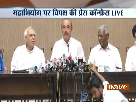 We have moved an impeachment motion seeking the removal of CJI: Ghulam Nabi Azad