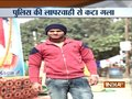 Delhi: Biker dies after his neck get stuck in a wire that was tied between two barricades