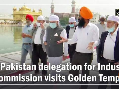 Pakistan delegation for Indus Commission visits Golden Temple