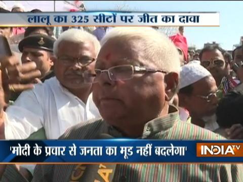 Lalu Yadav and Ghulam Nabi Azad takes a dig at PM Modi's campaign in Varanasi
