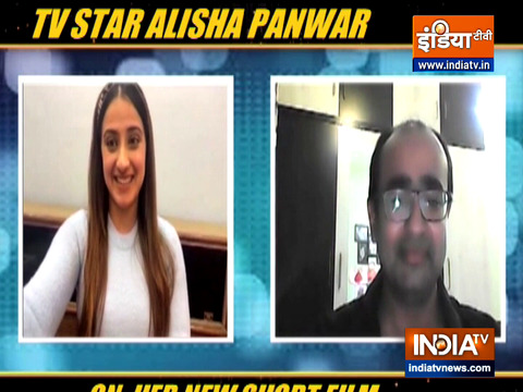 Alisha Panwar on her new short film