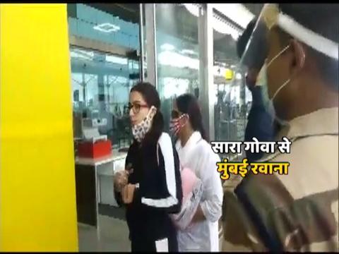 Sara Ali Khan, Deepika Padukone fly back to Mumbai