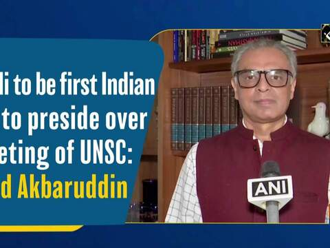 Modi to be first Indian PM to preside over meeting of UNSC: Syed Akbaruddin