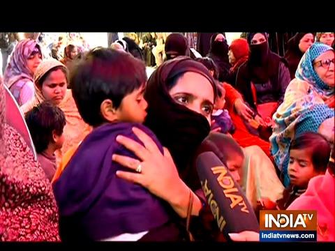 सुप्रीम कोर्ट के मध्यस्थ के दौरे के बाद शाहीन बाग में बैठे प्रदर्शनकारियों की प्रतिक्रिया