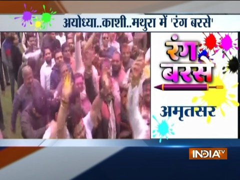Holi celebrated with zeal and fervour across Nation