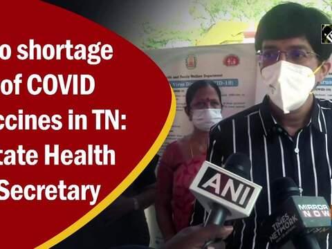 No shortage of COVID vaccines in TN: State Health Secretary