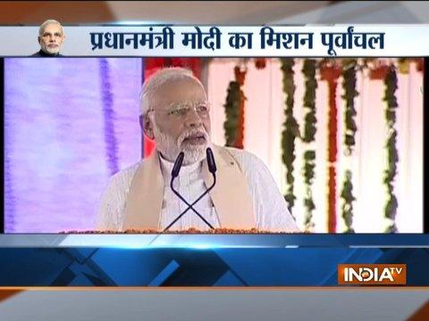 Mirzapur: PM Modi dedicates Bansagar canal project to the nation