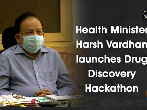Health Minister Harsh Vardhan launches Drug Discovery Hackathon