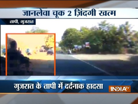 WATCH: Deadly accidents in Gujarat, Rajasthan claim lives of two