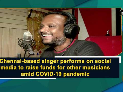 Chennai-based singer performs on social media to raise funds for other musicians amid COVID-19 pandemic