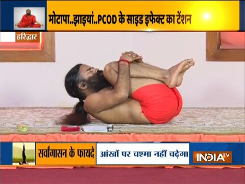 Troubled by irregular periods, know best yoga asanas from Swami Ramdev
