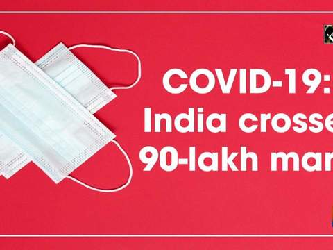 COVID-19: India crosses 90-lakh mark
