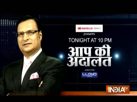 Who is behind 'Saffron Terror'? Watch Sadhvi Pragya's response in Aap Ki Adalat at 10 tonight