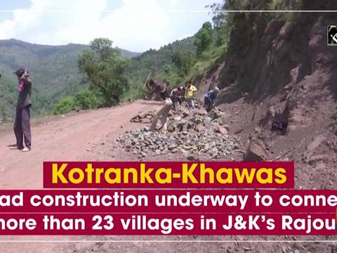 Kotranka-Khawas road construction underway to connect more than 23 villages in J-K's Rajouri