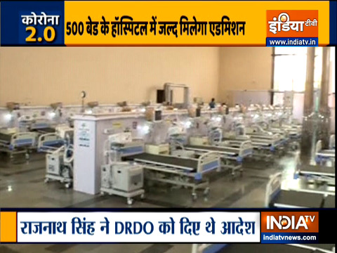 DRDO set up special COVID hospital in Lucknow