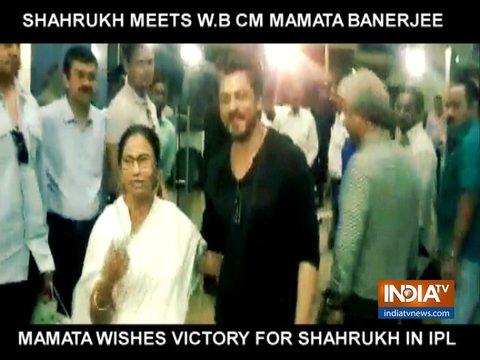 पश्चिम बंगाल की मुख्यमंत्री ममता बनर्जी ने शाहरुख खान को आईपीएल 2019 के लिए दी शुभकामनाएं