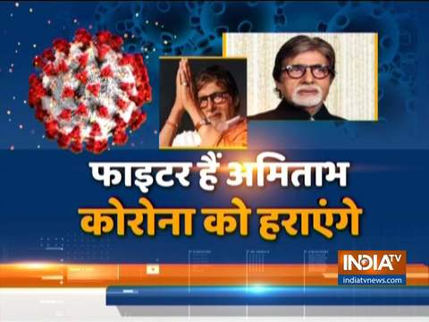 Amitabh Bachchan stable with mild symptoms, recovering in isolation unit of Nanavati Hospital