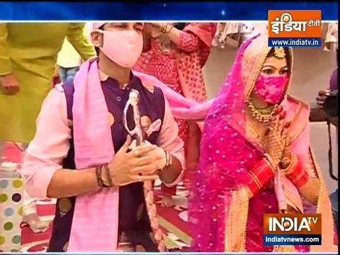 TV actor Manish Raisinghan gets married to Sangeita Chauhaan