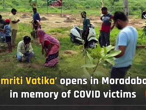 'Smriti Vatika' opens in Moradabad in memory of COVID victims