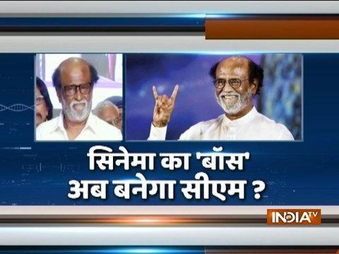 Will Tamil film hero Rajinikanth become Tamil Nadu Chief Minister?