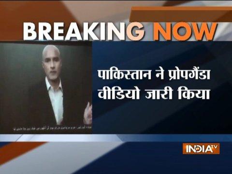 Pakistan releases new video of Kulbhushan Jadhav