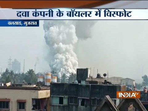Blast in boiler of private phama company in Valsad