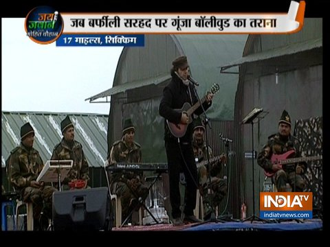 Happy New Year 2019: India TV organises Mohit Chauhan concert for jawans in Sikkim
