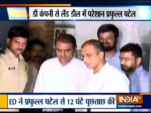 NCP leader Praful Patel questioned by ED in money laundering case