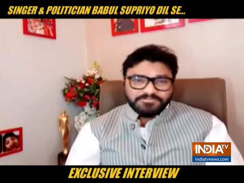 Singer and Politician Babul Supriyo opens on why he has gone away from singing since 2014