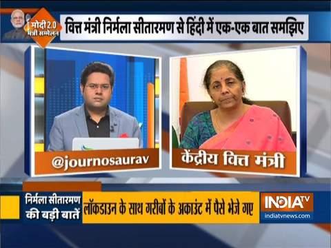 It is hard to estimate exact damage coronavirus has done to the economy at present: FM Nirmala Sitharaman